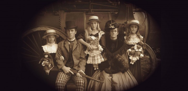 Old Fashioned Costume Photography
