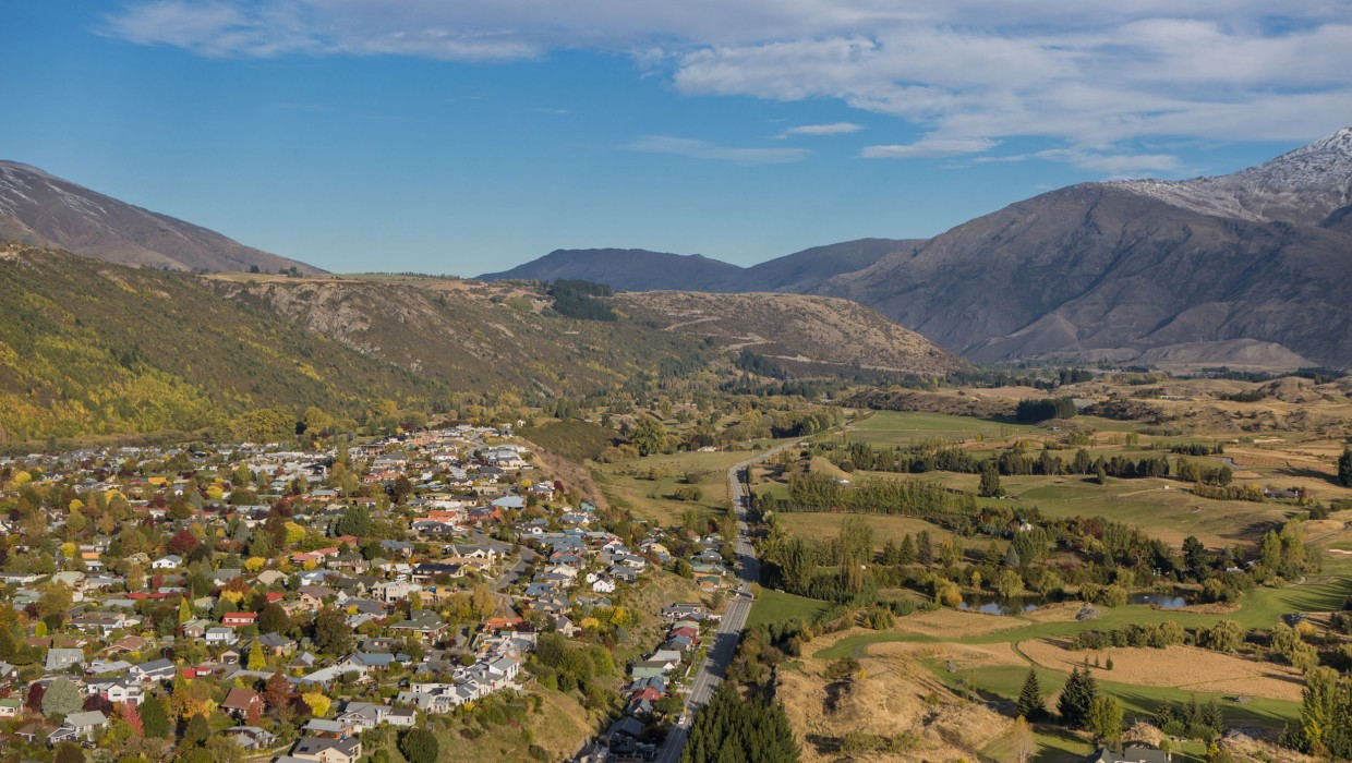 Views over Arrowtown
