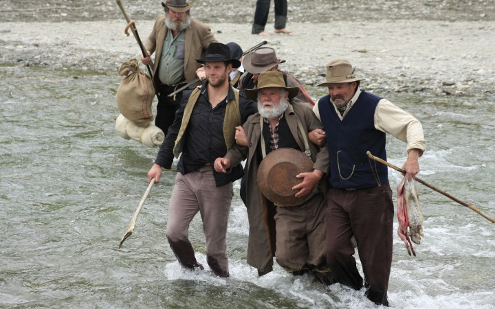 Big Day on the Arrow River, Arrowtown Goldmining Reinactment