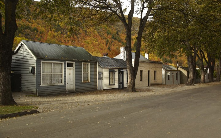 Autumn Cottages, Arrowtown