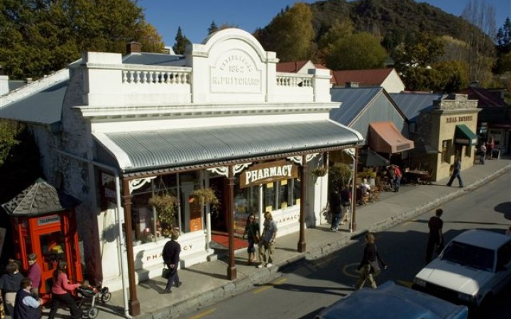 Arrowtown Pharmacy, main street